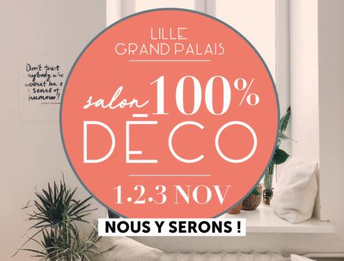 Lille Grand Palais Salon 100% Deco, Terrariums créations végétales Nat&Sens